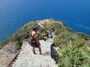 Monesteroli: thousand steep steps overlooking the sea