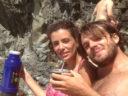 An Argentine mate among the Ligurian cliffs