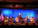 The folk band Grandi & fanti, guest star of the music workshop
