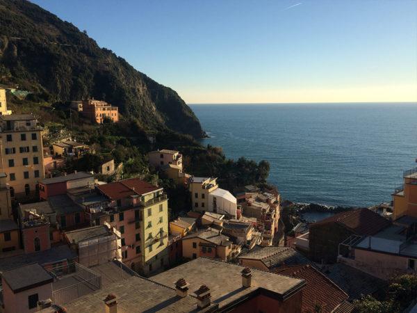 Vista mare (in un pomeriggio di gennaio!)