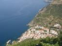 Riomaggiore vista dal santuario di Montenero